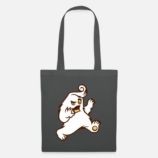 Halloween Bags & Backpacks - monster - Tote Bag graphite grey