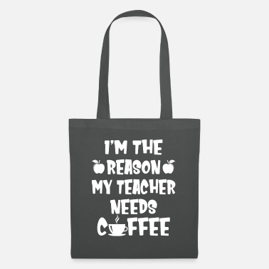 Bowling I'm The Reason My Teacher Needs Coffee Funny - Tote Bag