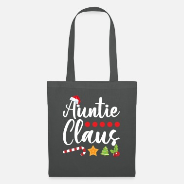 Christmas Auntie Claus Funny Christmas Gift For Aunts - Stoffbeutel