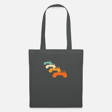 Offroad Race Vintage Monster Truck Retro Stunt Show Car Tuning - Tote Bag