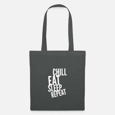 Chill Eat Sleep Repeat - Tote Bag