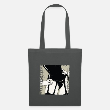 Rock N Roll Underwear Girlfriend - Tote Bag