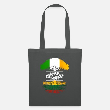 Lithuanian Irish Grown With Lithuanian Roots - Tote Bag