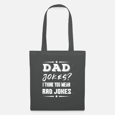 Dad jokes - Father - Daddy - Shirt - Tote Bag