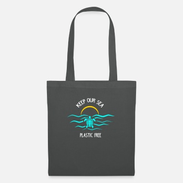 Save Keep Our Sea Plastic Free Save The Ocean - Tote Bag