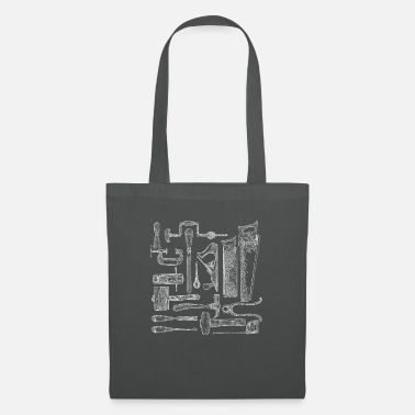 Carpenter Tools - Tote Bag
