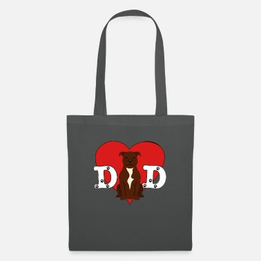 Dad Staffordshire Bull Terrier - Tote Bag