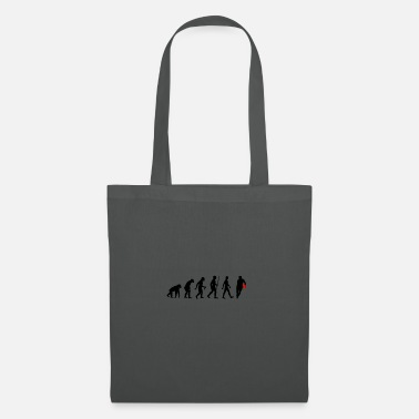 Man Evolution of Man Rugby Football Sports Fan - Tote Bag