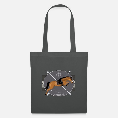 jumper horse - horse jumping - Tote Bag