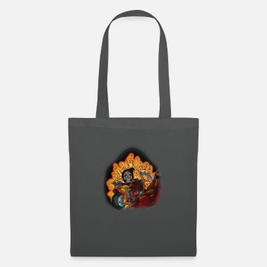 Death Penalty Death on bicycle - Tote Bag