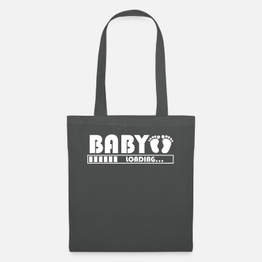 Feet Baby Loading Baby Feet Baby Belly T-Shirt Gift - Tote Bag