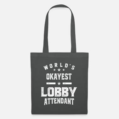 Lobby Attendant Job Title Gift - Tote Bag