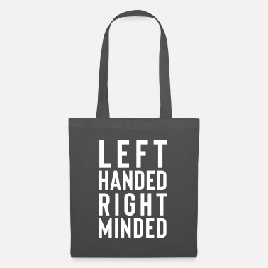 Left handed right minded - Tote Bag
