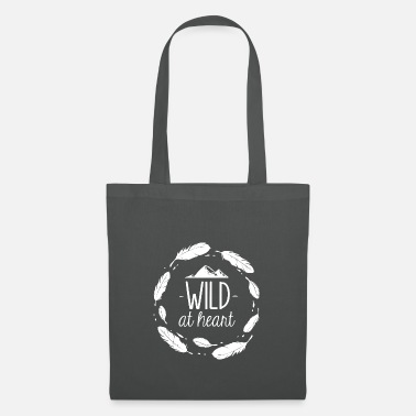 Campfire Wild in the heart - Tote Bag