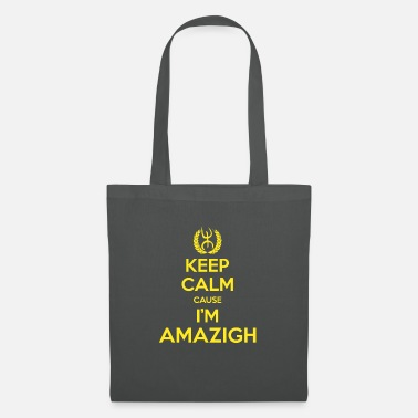 T shirts Keep calm cause I'm amazigh - Sac en tissu