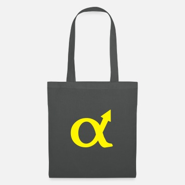 Wedding alphamale symbol - Tote Bag