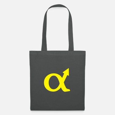 Sex alphamale symbol - Tote Bag