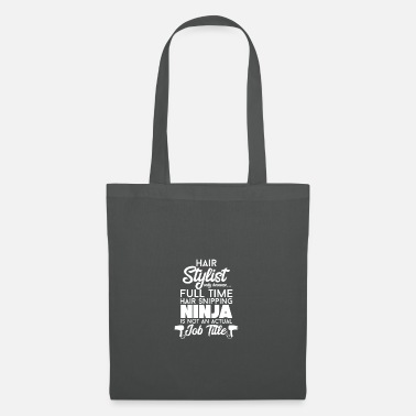 Hairdresser hair salon gift · hair ninja - Tote Bag
