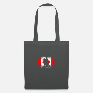 World Champion Western riding Canada rider gift horses flag - Tote Bag