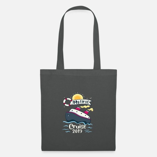Cruise Ship Bags & Backpacks - Cruise gift cruise ship passenger - Tote Bag graphite grey