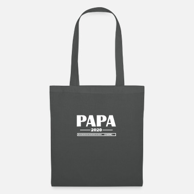 Expectant Fathers papa 2020 loading ... father father's day paternity pa - Tote Bag