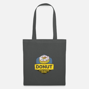 Chocolate donut - Tote Bag
