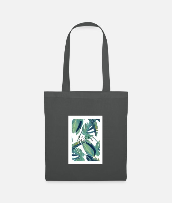 Bless You Bags & Backpacks - Pachamama - Tote Bag graphite grey