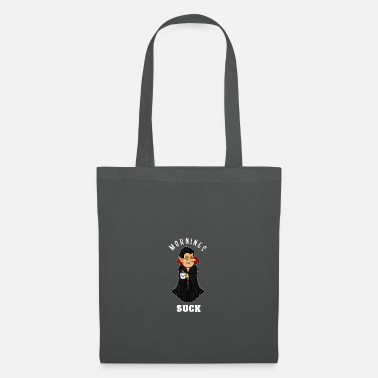 Grumpy In The Morning Vampire morning grumpy grumpy tired monday gift - Tote Bag