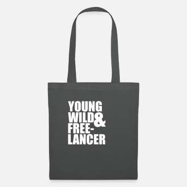 Programmemer Young Wild Freelancer - Tote Bag