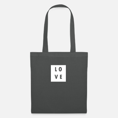 Hodetelefoner Love Love Statement Saying Gift Trend Funny - Tote Bag