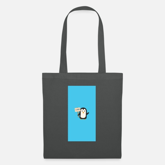 Polar Bags & Backpacks - Pinguin like - Case - Tote Bag graphite grey