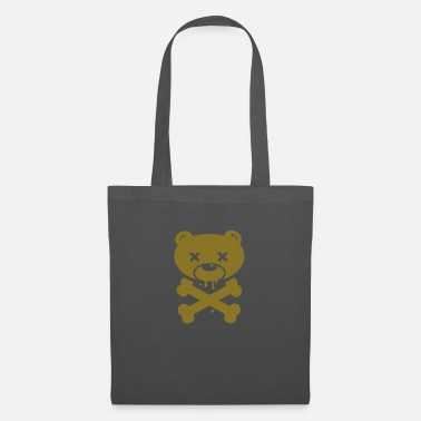 Armageddon Scary Bear monster ghost Halloween skull zombie - Tote Bag