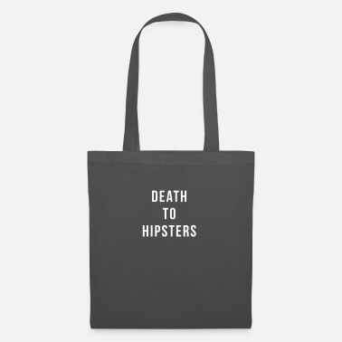 Death To Hipsters - Tote Bag