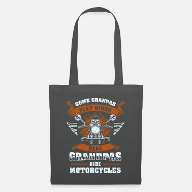 Biker Some Grandpas Play Bingo Gift - Tote Bag