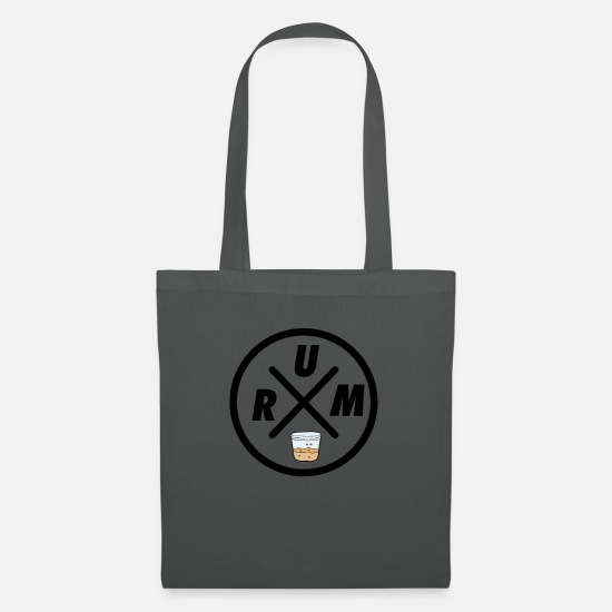 Alcohol Bags & Backpacks - Rum X - Tote Bag graphite grey