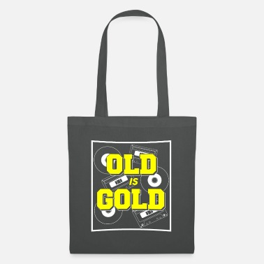 Vynil Birthday Old but Gold Caskets Vynil Gift - Tote Bag