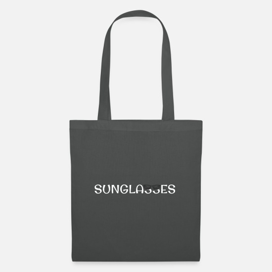 Sunglasses Bags & Backpacks - sunglasses - Tote Bag graphite grey