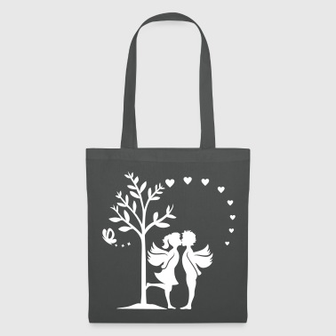 LOVE LIEBES ENGEL PAAR - Tote Bag