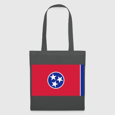 Flag Tennessee - Tote Bag