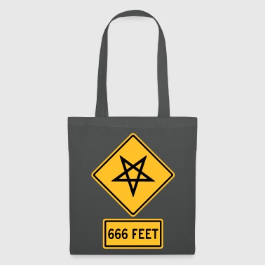 Satanic Danger Traffic - Tote Bag