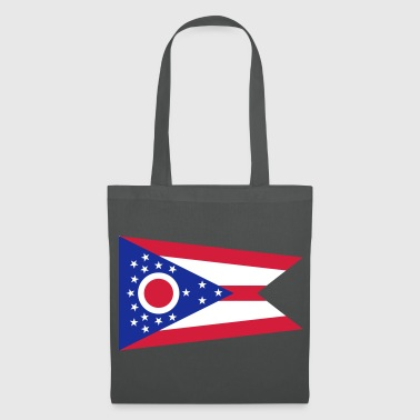 Flag Ohio - Tote Bag
