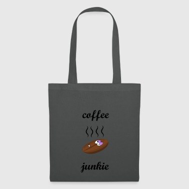 Coffee Junkie | Café junkie - Tote Bag