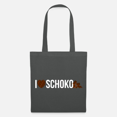 Grignoter J'adore le chocolat - Tote Bag