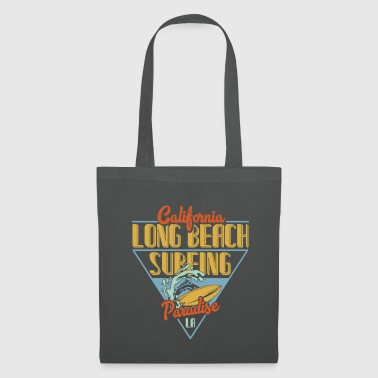 Long Beach Surfing - Tote Bag