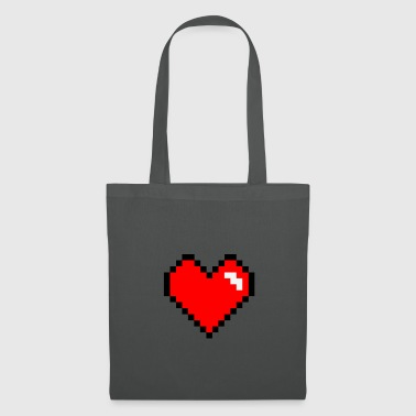 Video Game Heart pixel video game - Tas van stof
