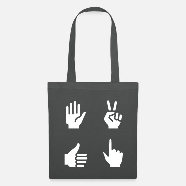 Hand Sign Hand hands sign - Tote Bag