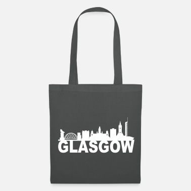 Uk Glasgow Scotland Skyline Gift Idea UK - Tote Bag