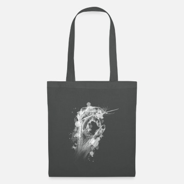 Watercolour Hand Looked In - Black Version - Gift Idea - Tote Bag