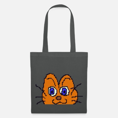 Retro Gaming Pixel Kitty - Tote Bag