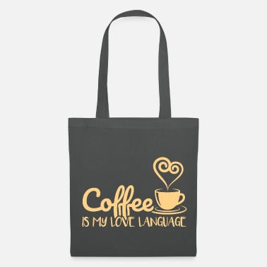 Queen Coffee Is My Love Language Gift - Tote Bag